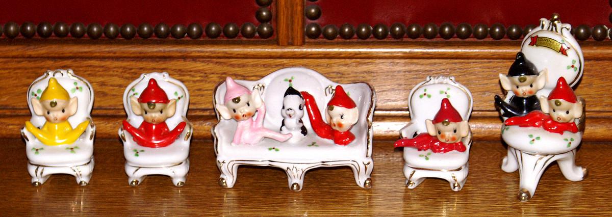 Mid-Century Chair Pixies