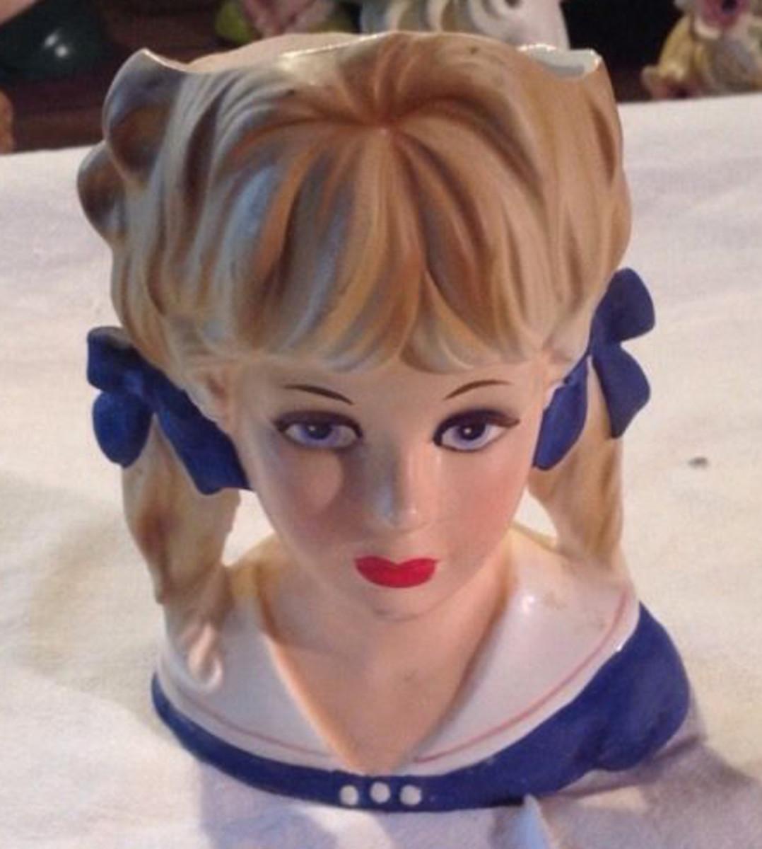 Sailor girl before her makeover