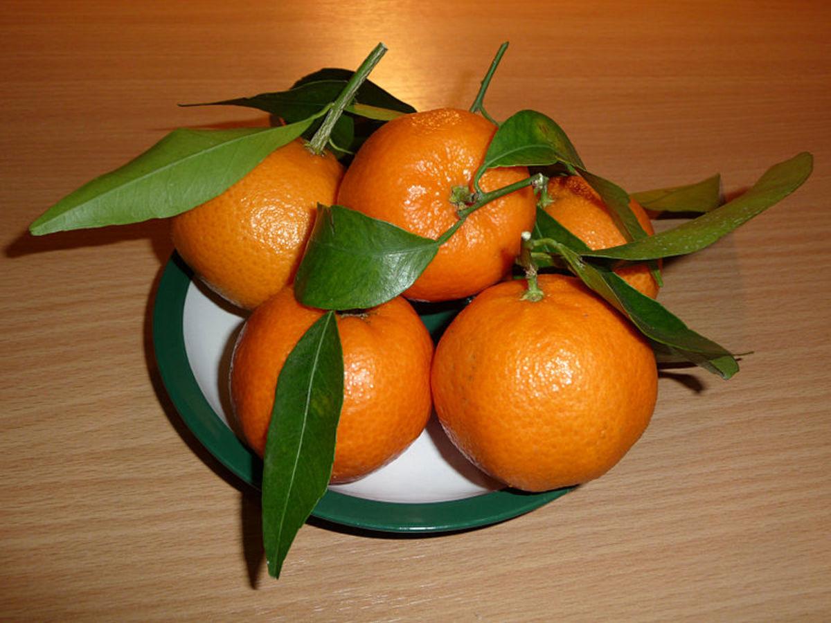 No sulfites in fresh oranges