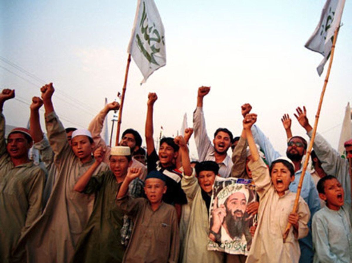 On May 30, 2011 The British Intelligence Chief  released a warning that Al-Qaeda was training children as young as 15 years old to carry out terrorist attacks in Great Britain.  This photo is an archive photo from November of 2007.