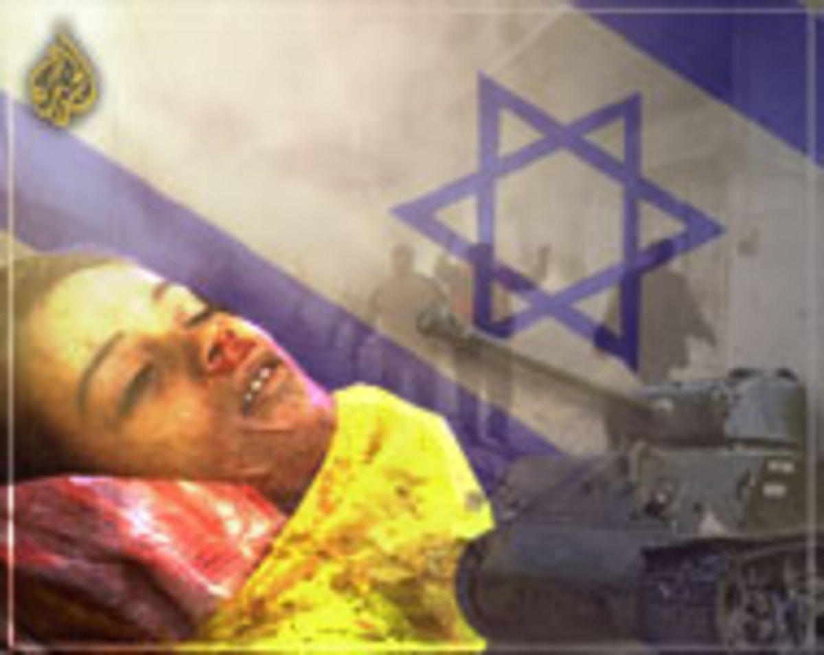 Another young casualty in the war between the people of Israel and the Palestinians