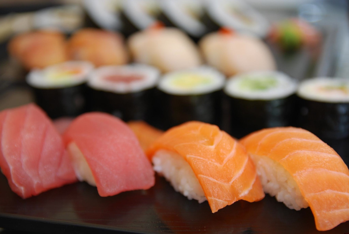Sushi is a great way to get vitamin B2
