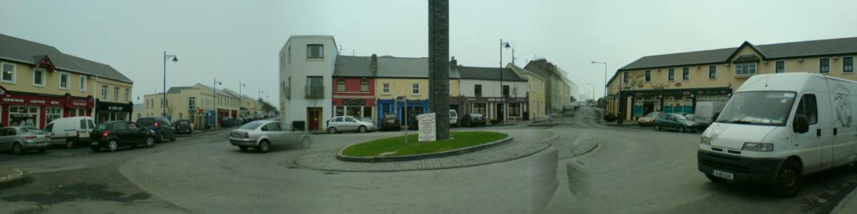 Roundabout in Belmullet