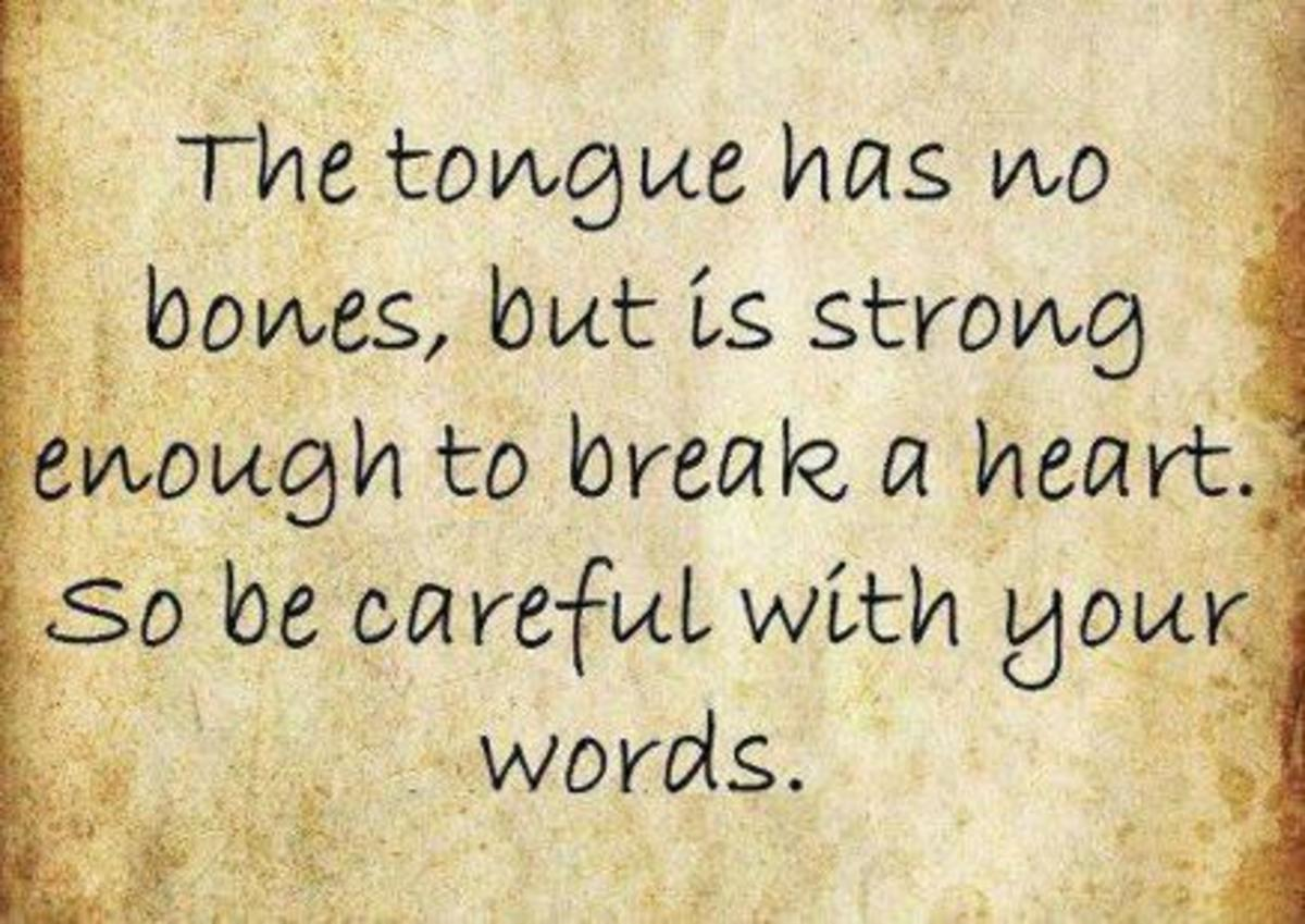 Positive Power of Words