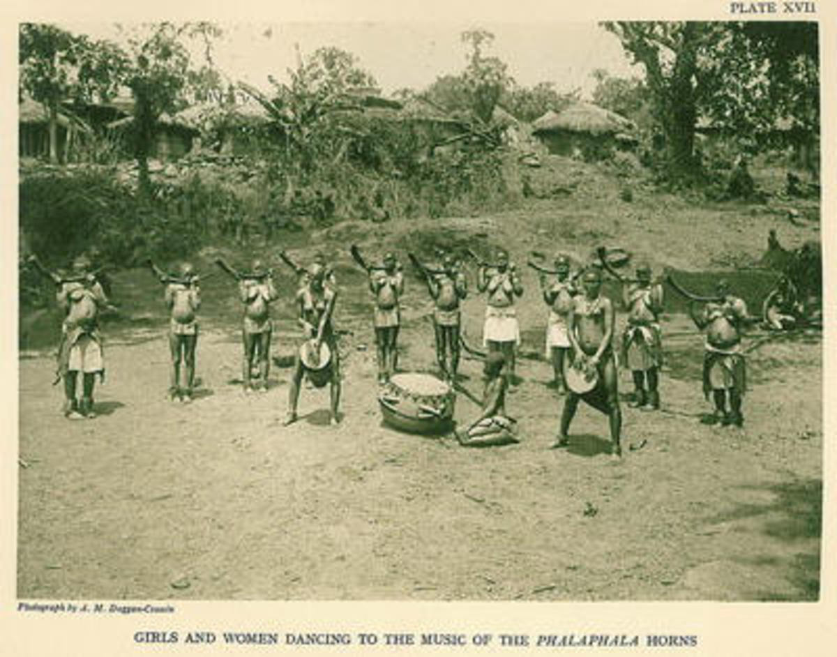 Venda Drummers o the 1940s
