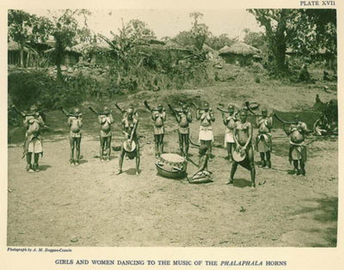 Venda Drummers o the 1940s