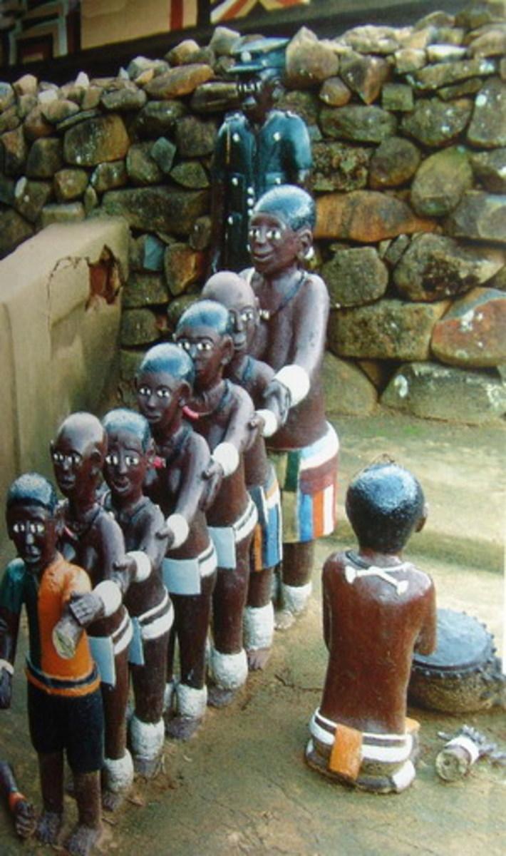 Venda Human figurines