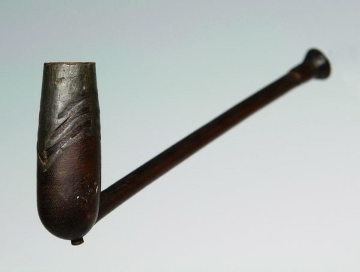 A Xhosa smoking pipe