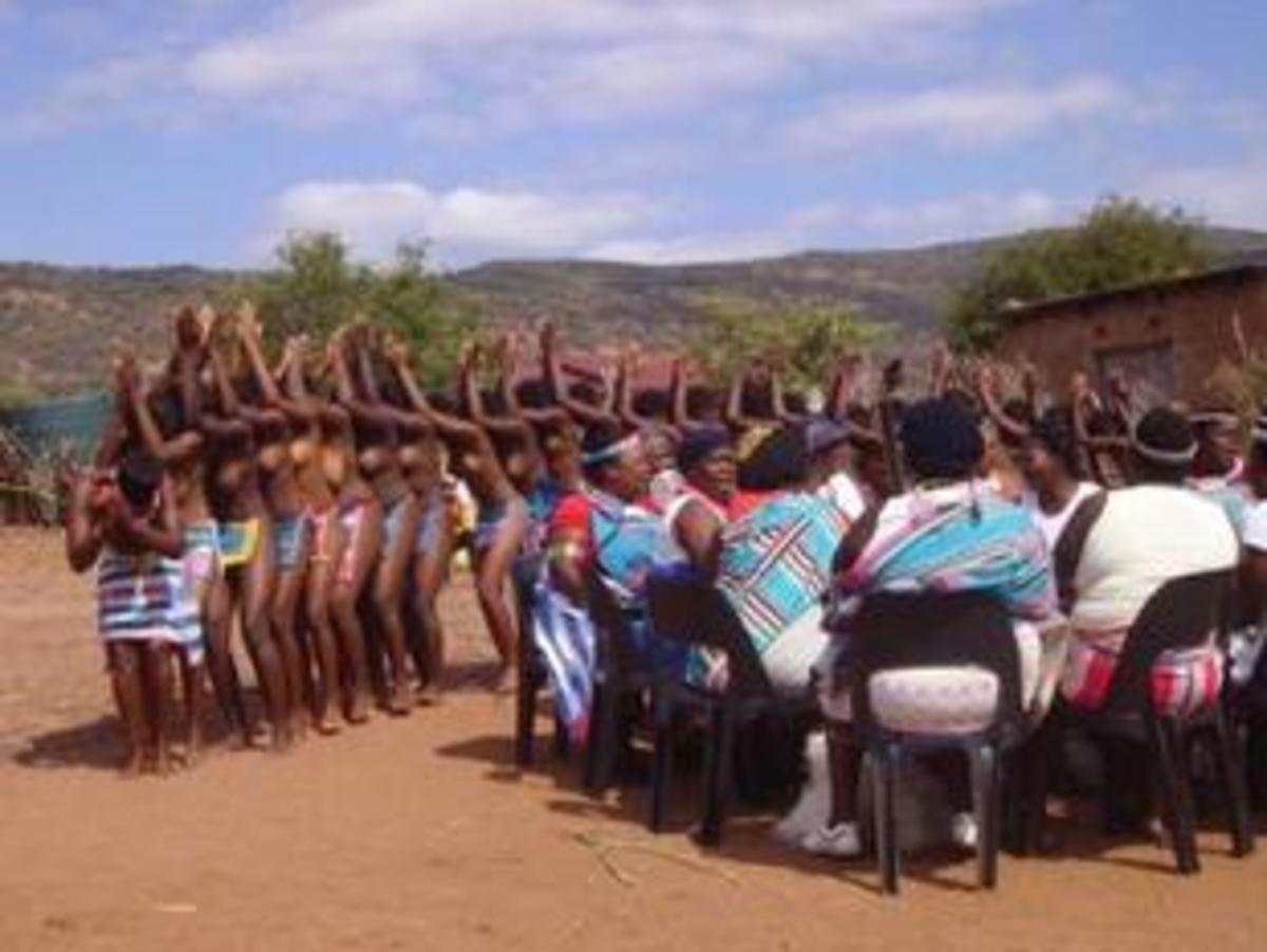 The Venda Doma Dance