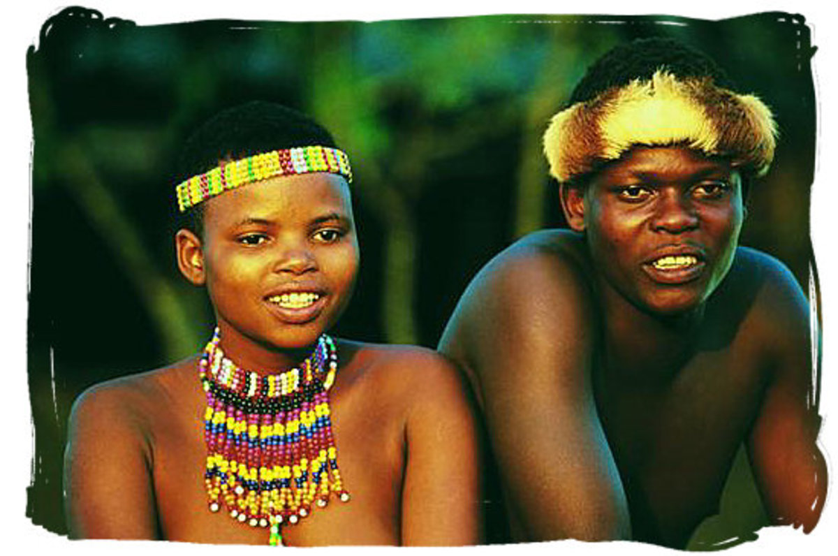 Zulu Boy and Girl