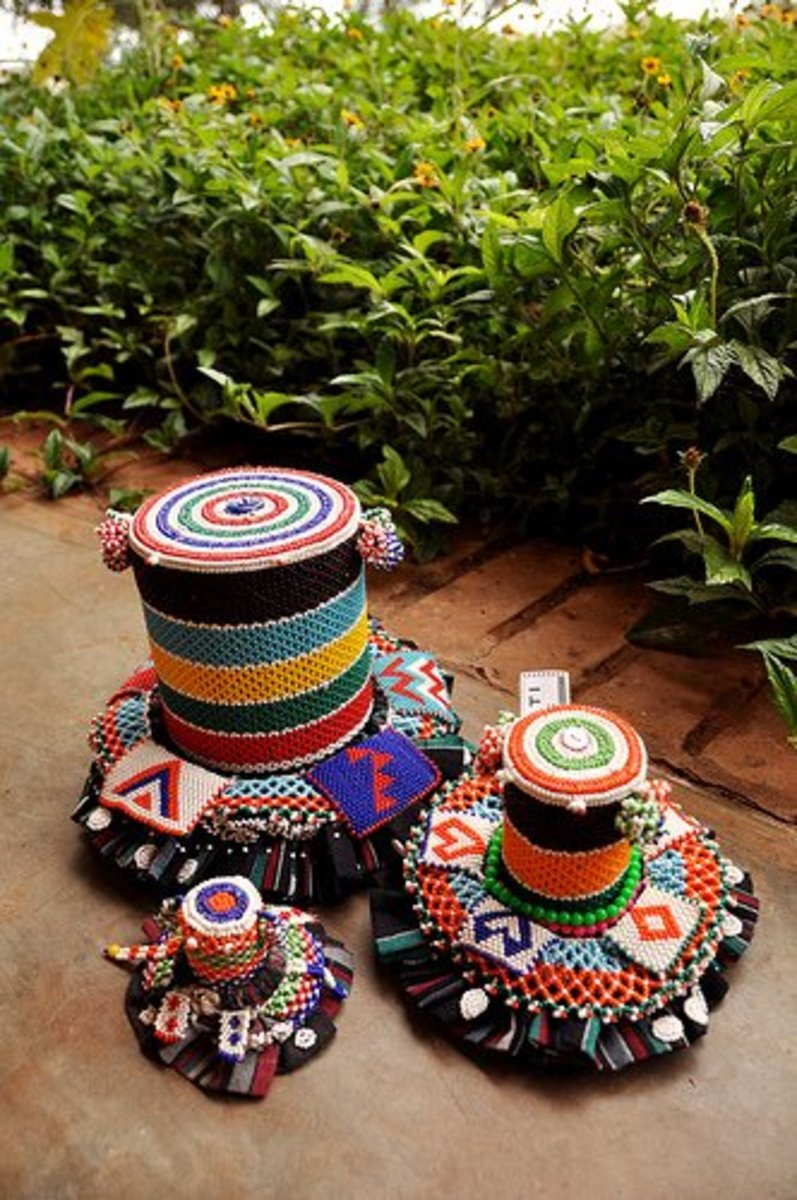 Traditional Tsonga/Venda Dolls