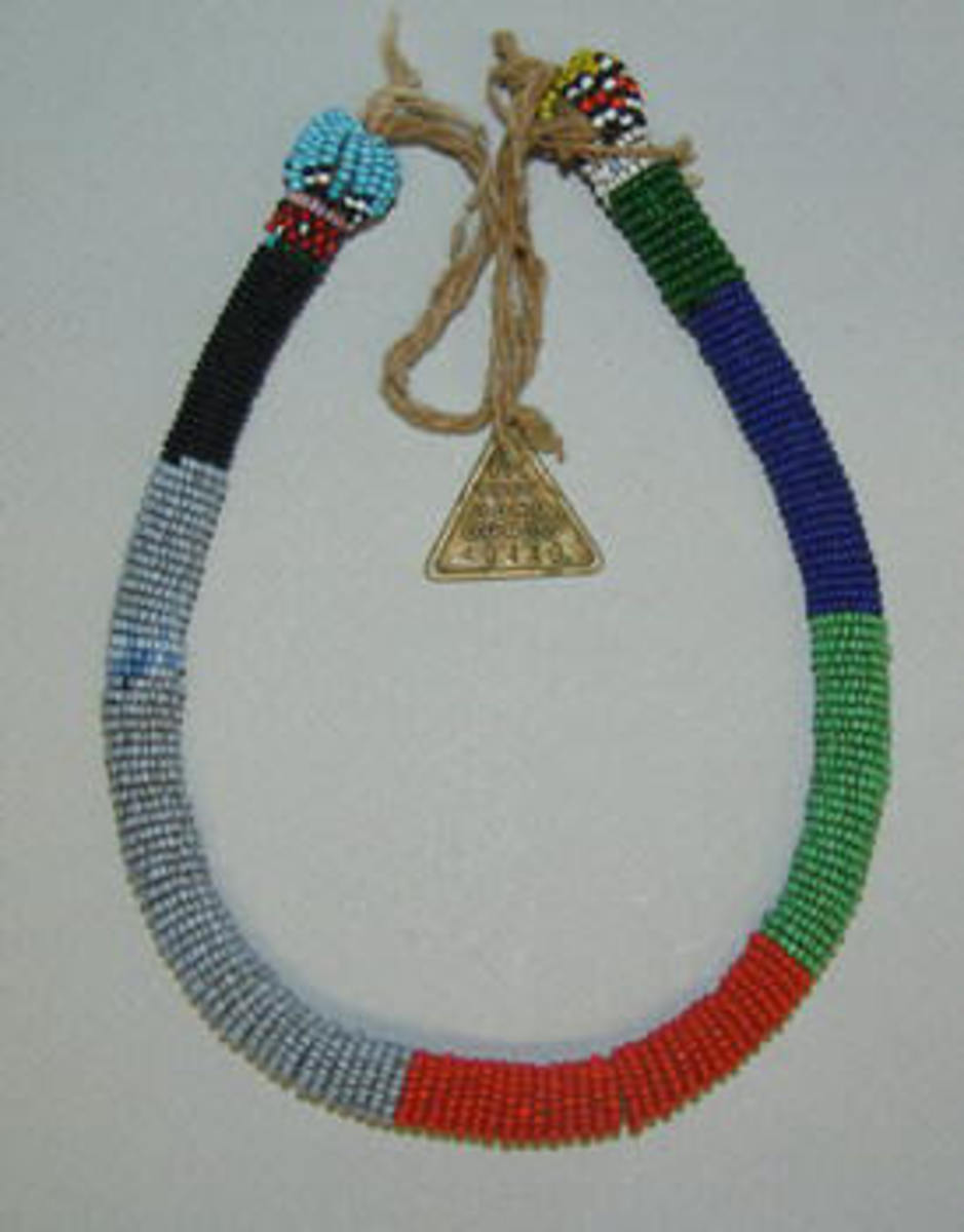 A Ndebele Necklace