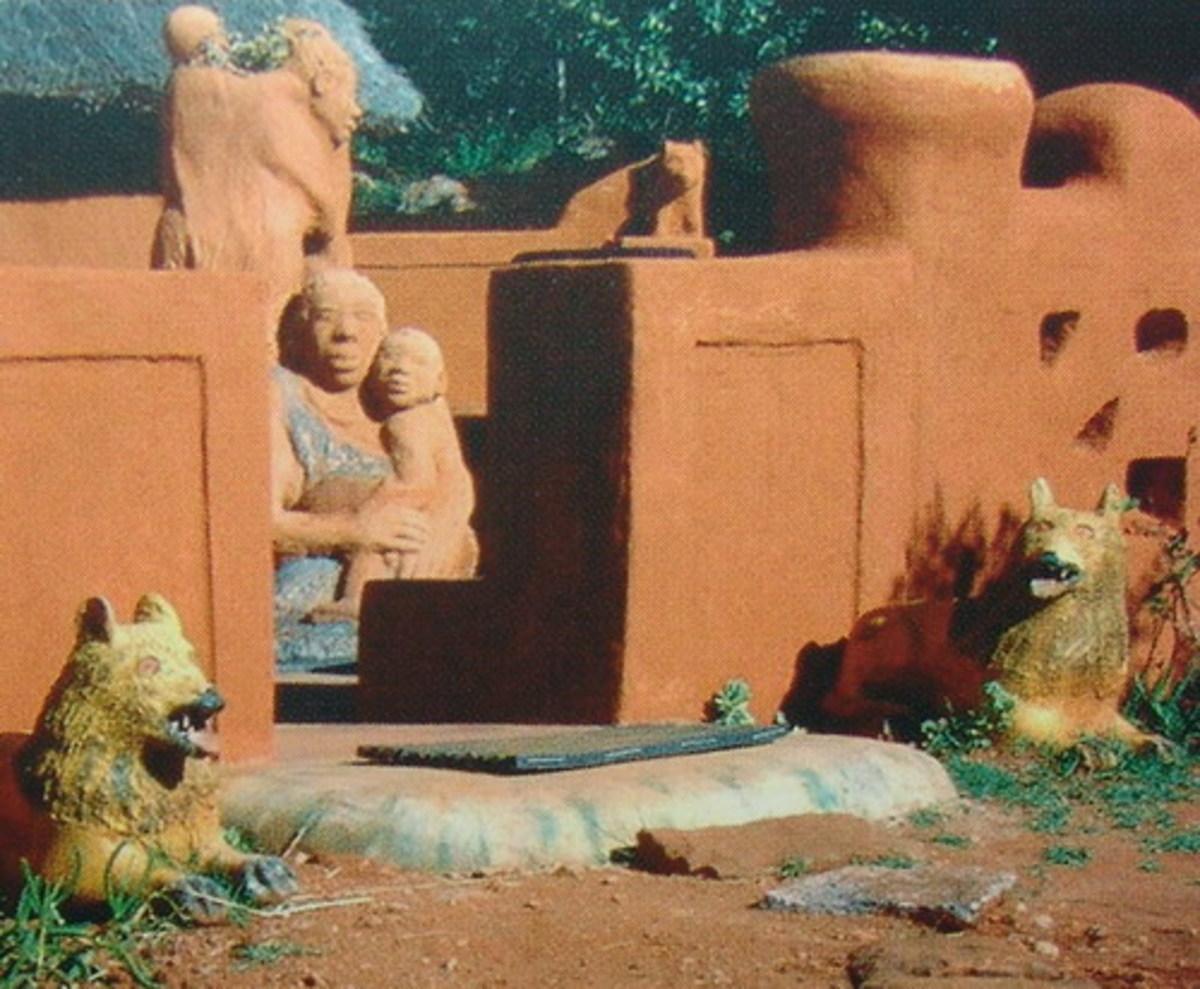 Venda home decoration and statue art