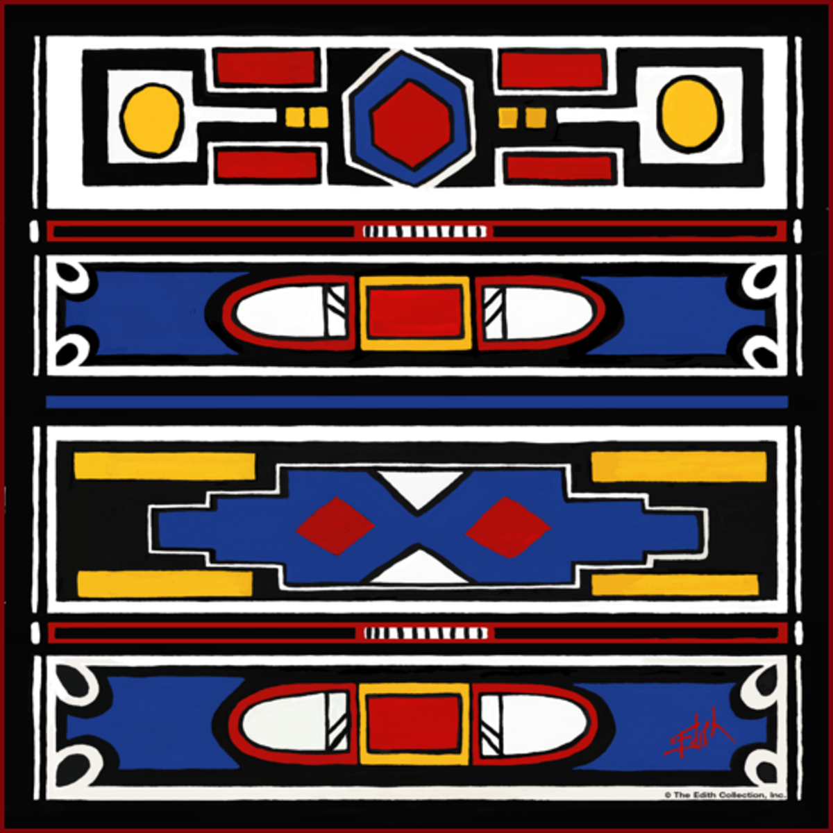 African Inspiration From the Ndebele People Of South Africa