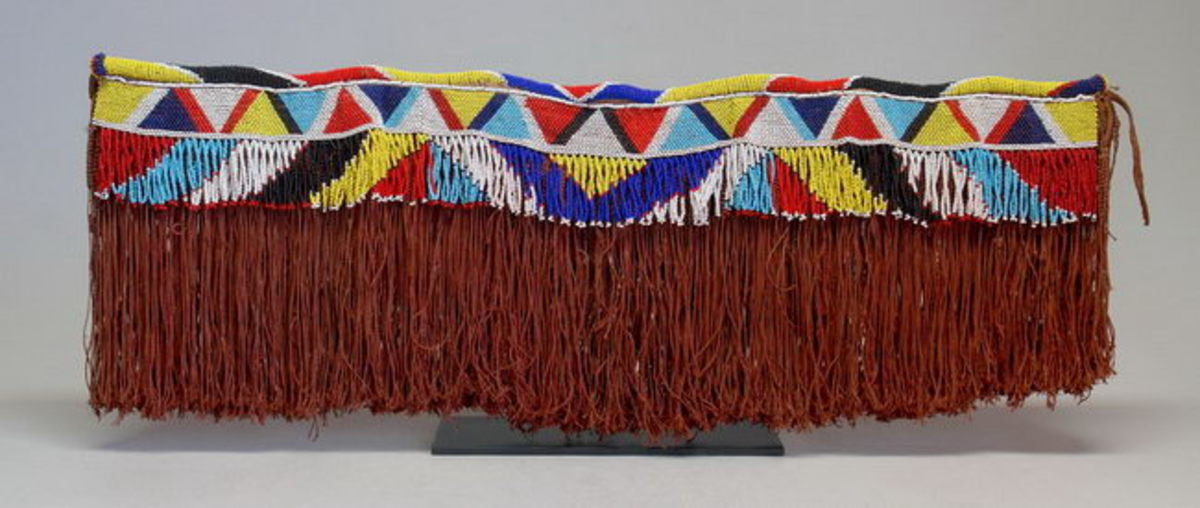 Sotho Thetana Apron worn by Basotho girls