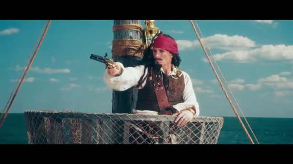Lyrics SNL Jack Sparrow