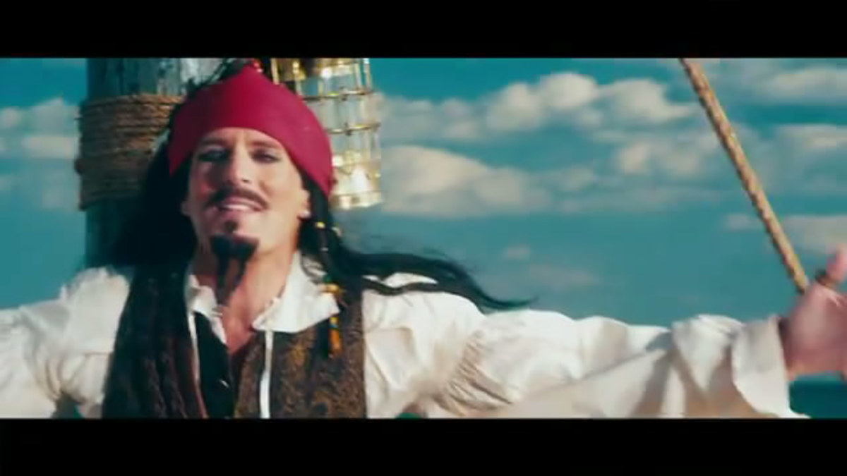 SNL Jack Sparrow Michael Bolton Lyrics