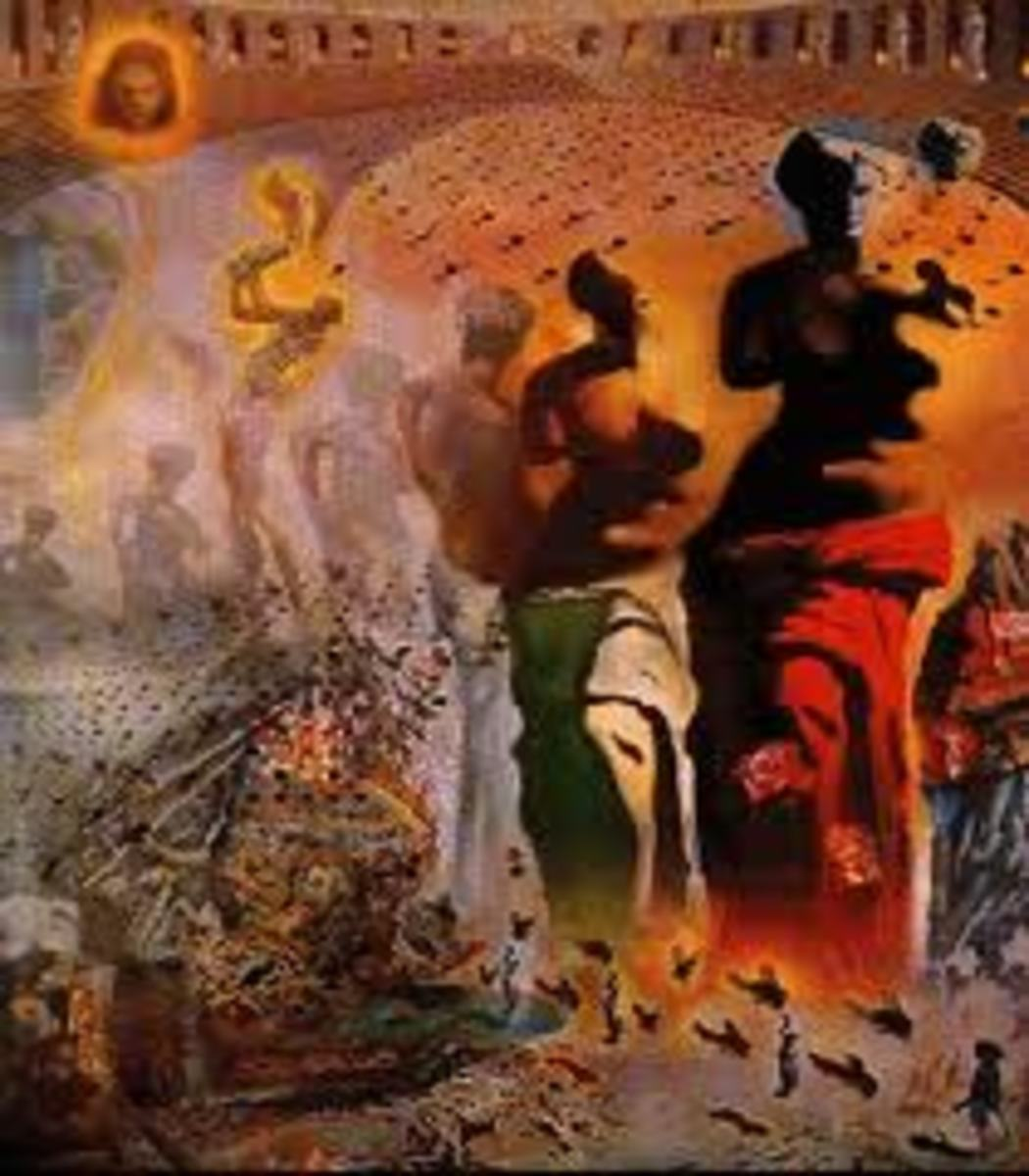 Salvadore Dali - The Hallucinogenic Toreador