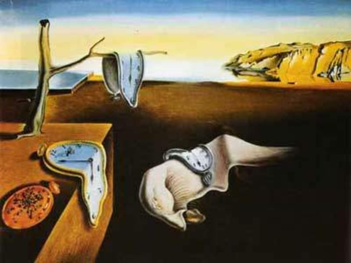 Salvadore Dali - The Persistence of Memory