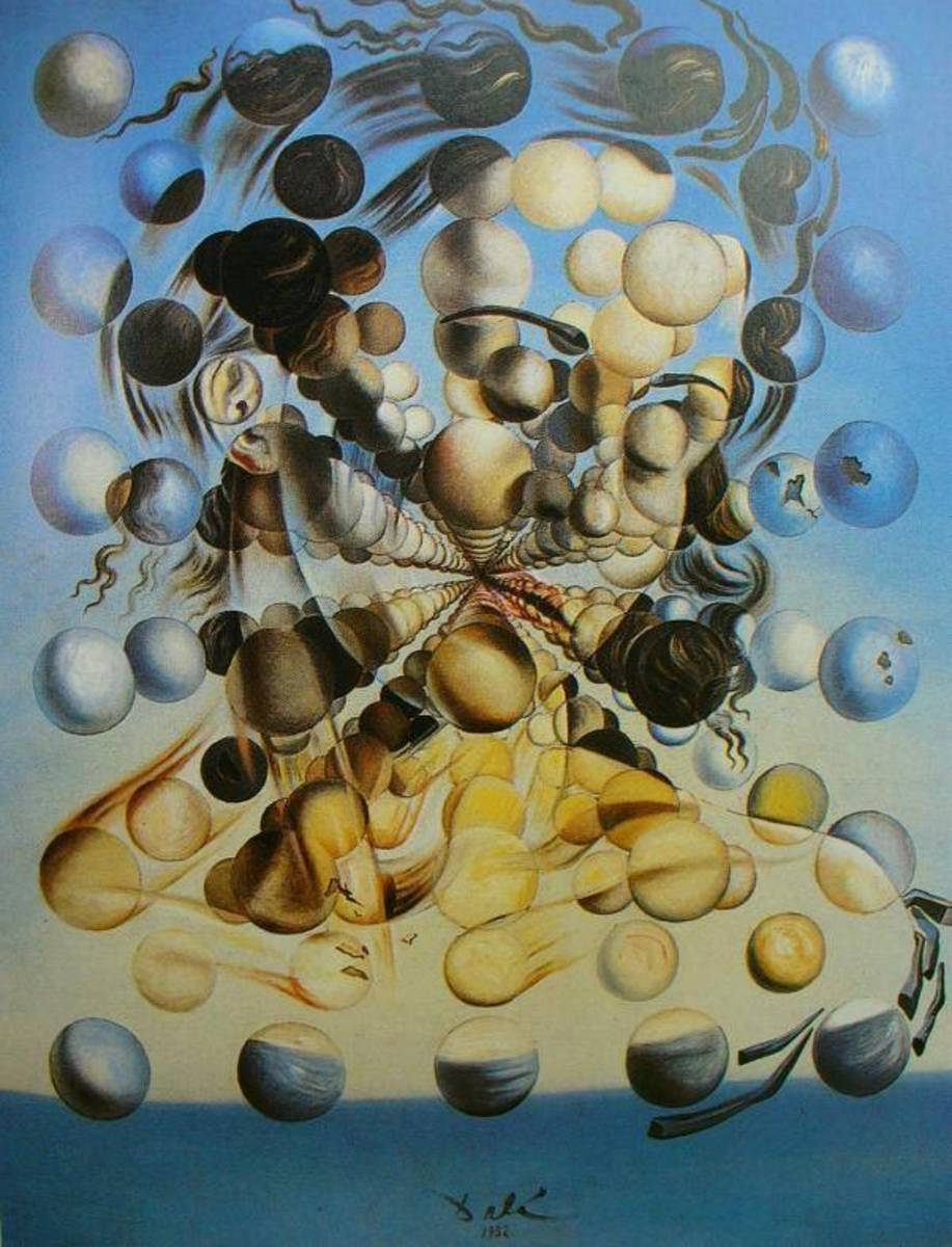 Salvadore Dali - Galatia of the Spheres