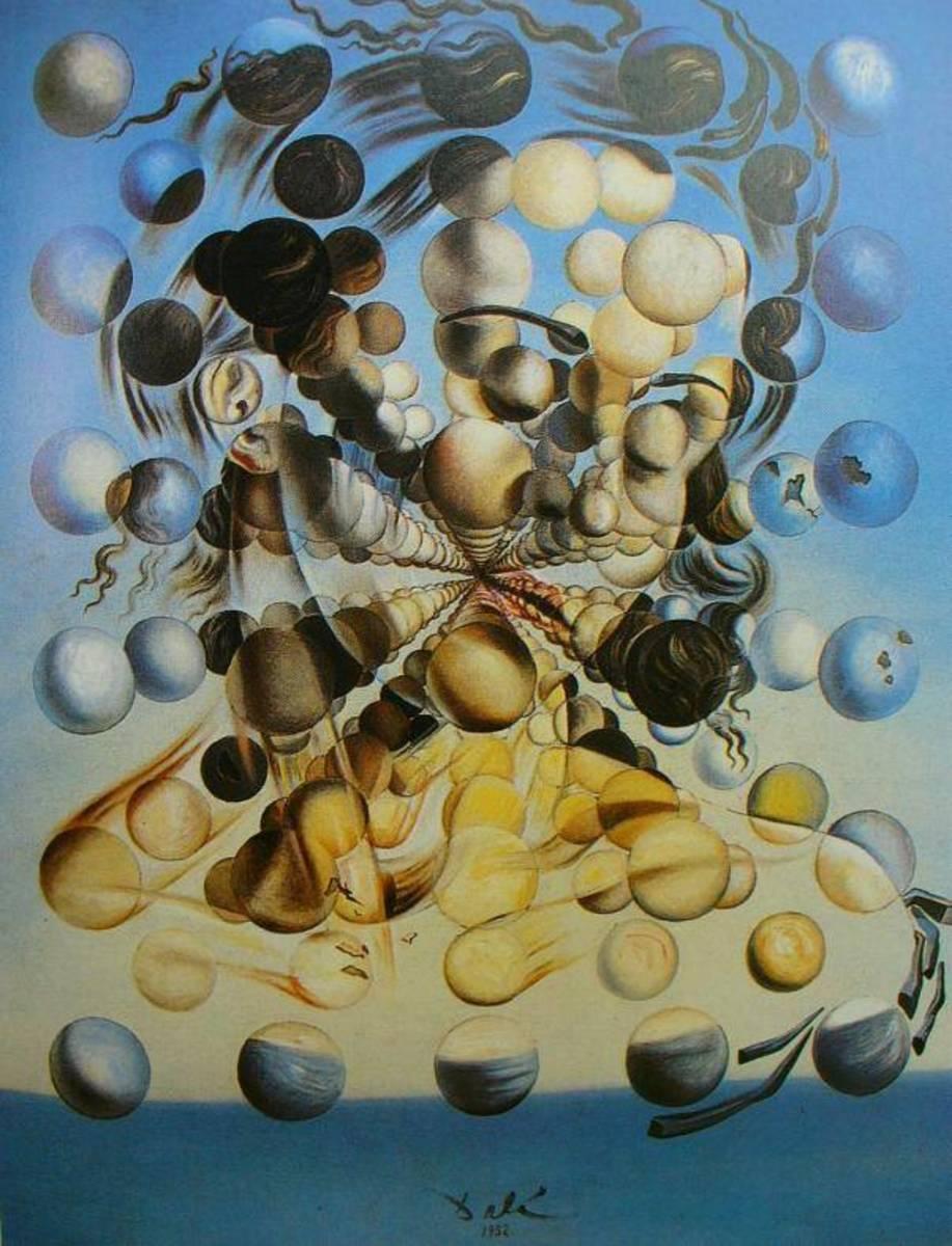 Salvadore Dali - Galatia of the Spheres