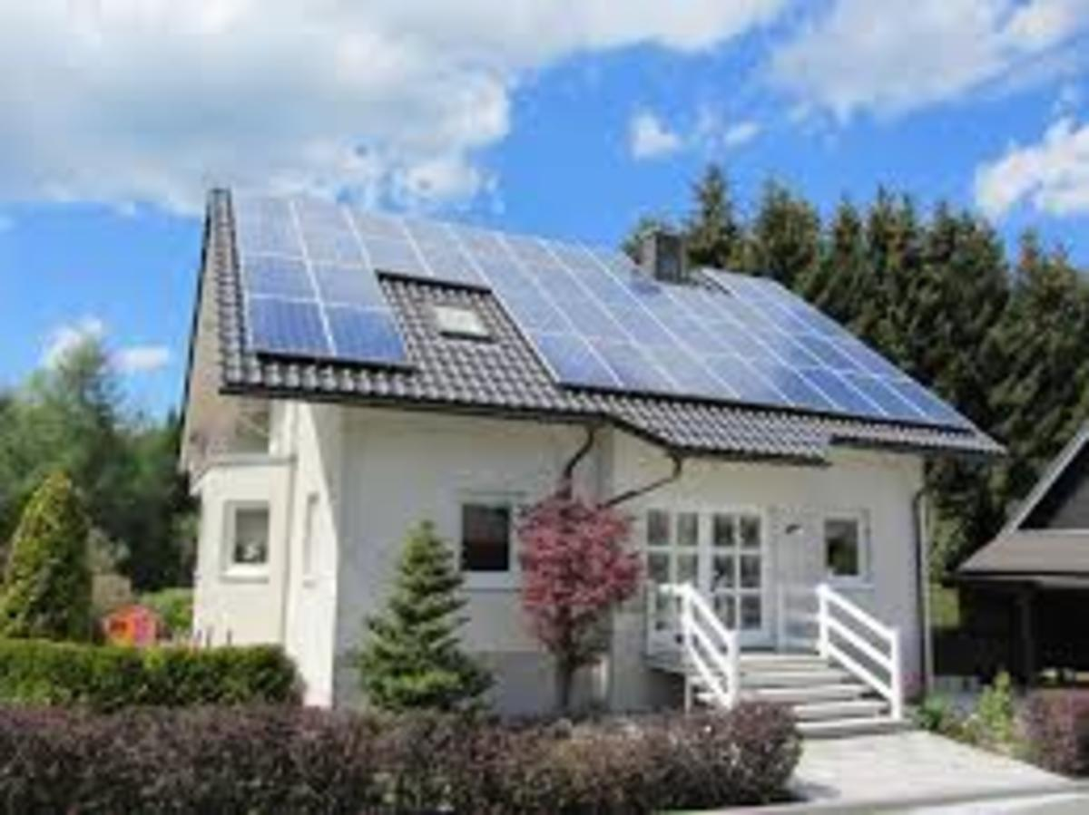 When Magnetic Solar Energy Become Widely Available, Less Roof Space Will Be Needed For Solar Panels