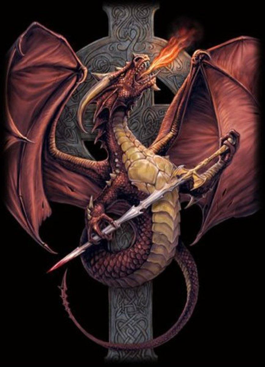dragon celtic By baron.raphael