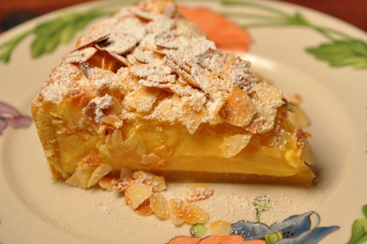 Slice of Torta Della Nonna Image:  Siu Ling Hui