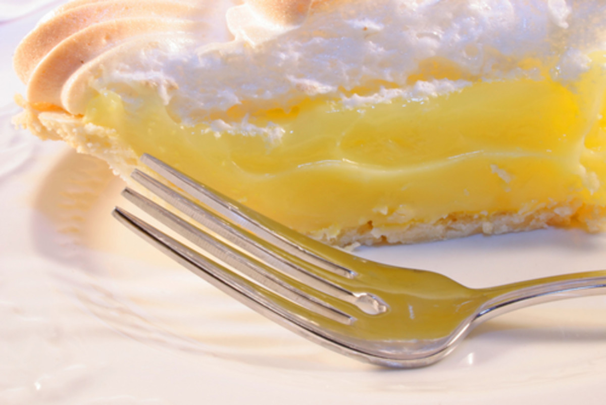Lemon Meringue Pie. Image: V. J. Matthew Shutterstock.com