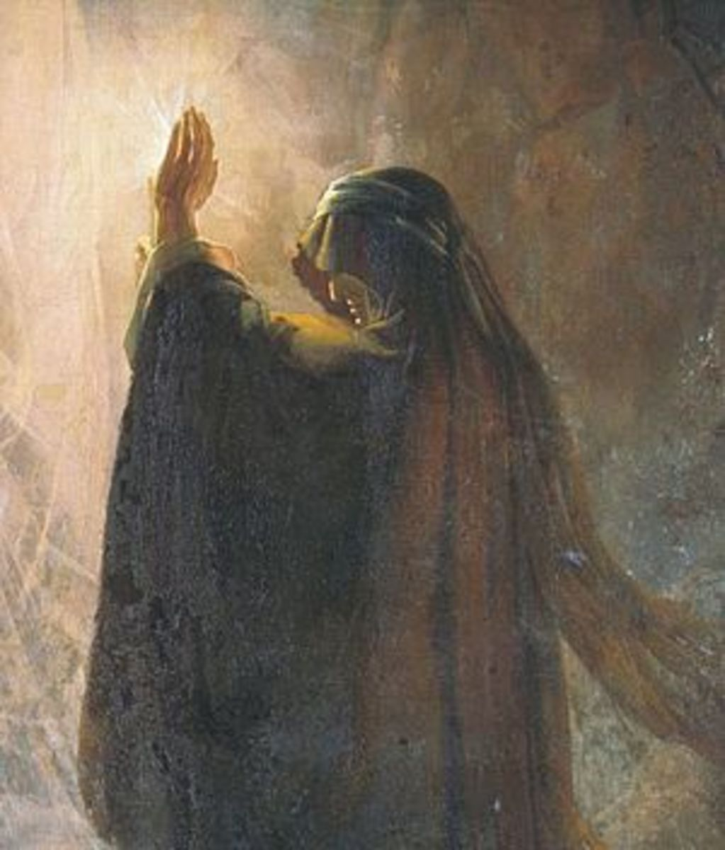 The Witch of Endor And King Saul