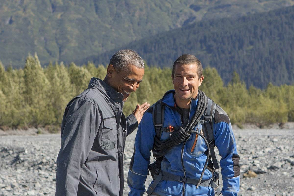 "Bear Grylls and President Obama on ""Running Wild"""