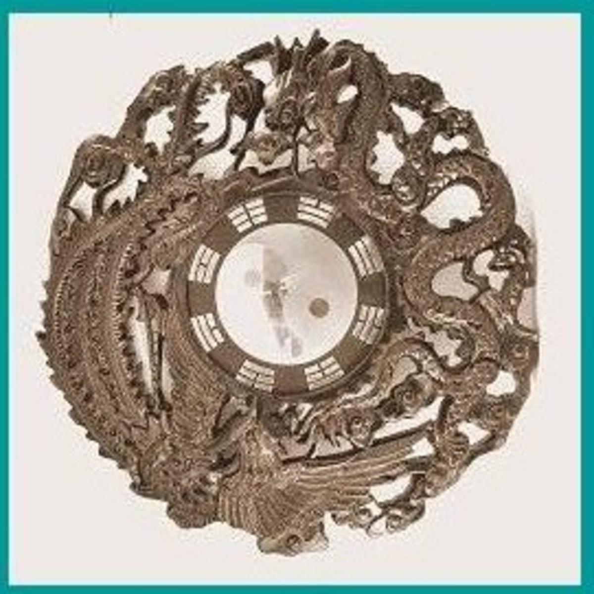 Dragon-Phoenix Bagua Mirror