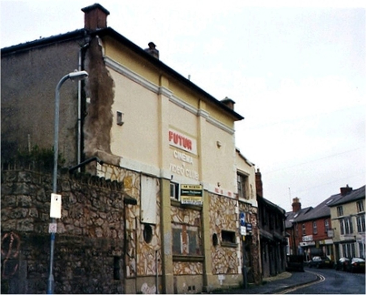 Serial Killer's Lair: Peter Moore ran The Futura Cinema, Denbigh