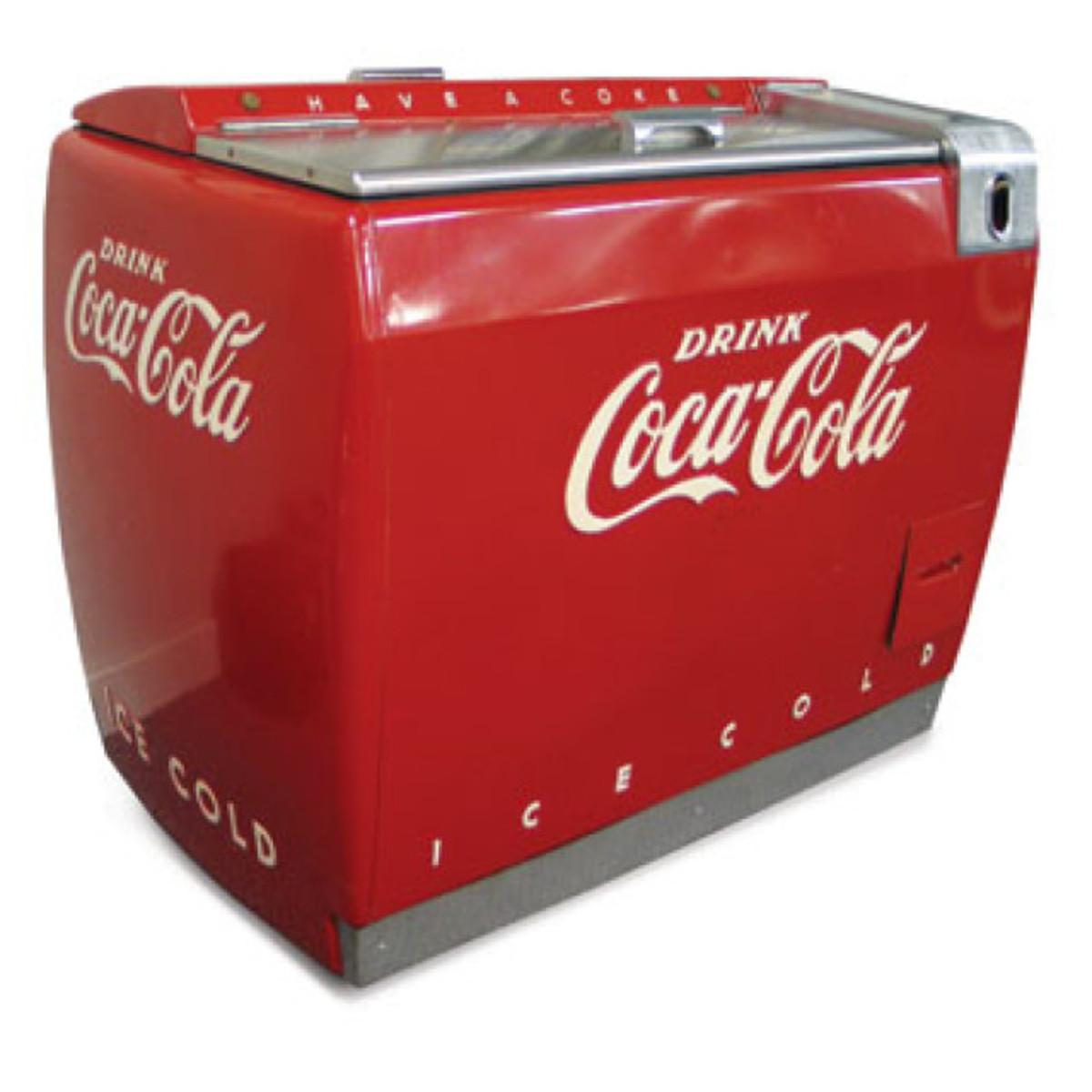 vintage coca cola coolers hubpages. Black Bedroom Furniture Sets. Home Design Ideas
