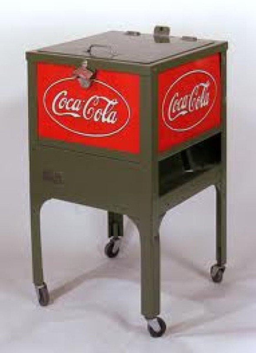 Vintage Coca Cola Coolers
