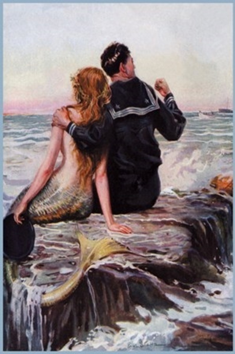 Sailor and Mermaid. Did sailors really mistake sea cows for mermaids?