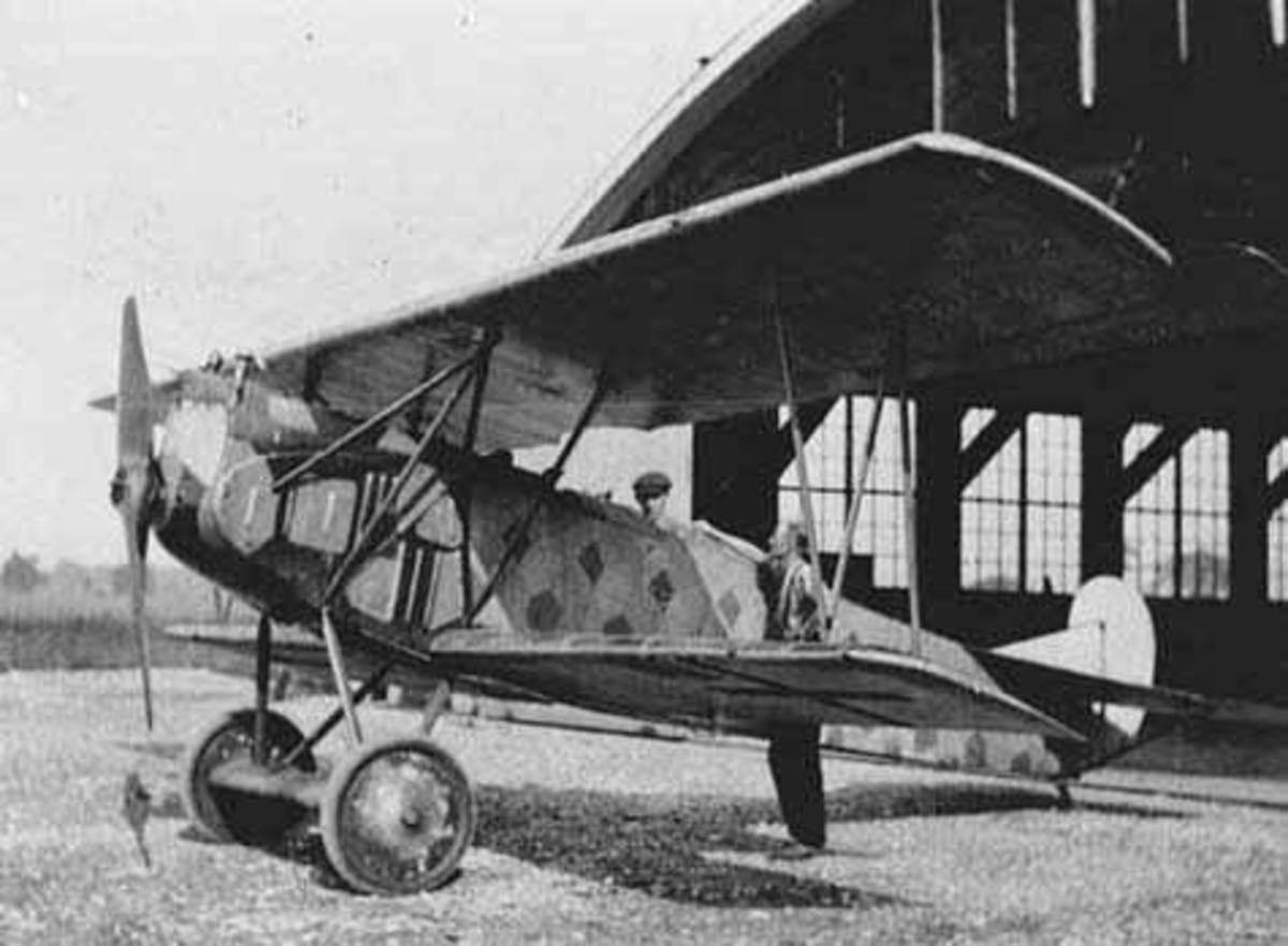 German Fokker D.VII Aircraft of the Type that Frank Luke Shot Down