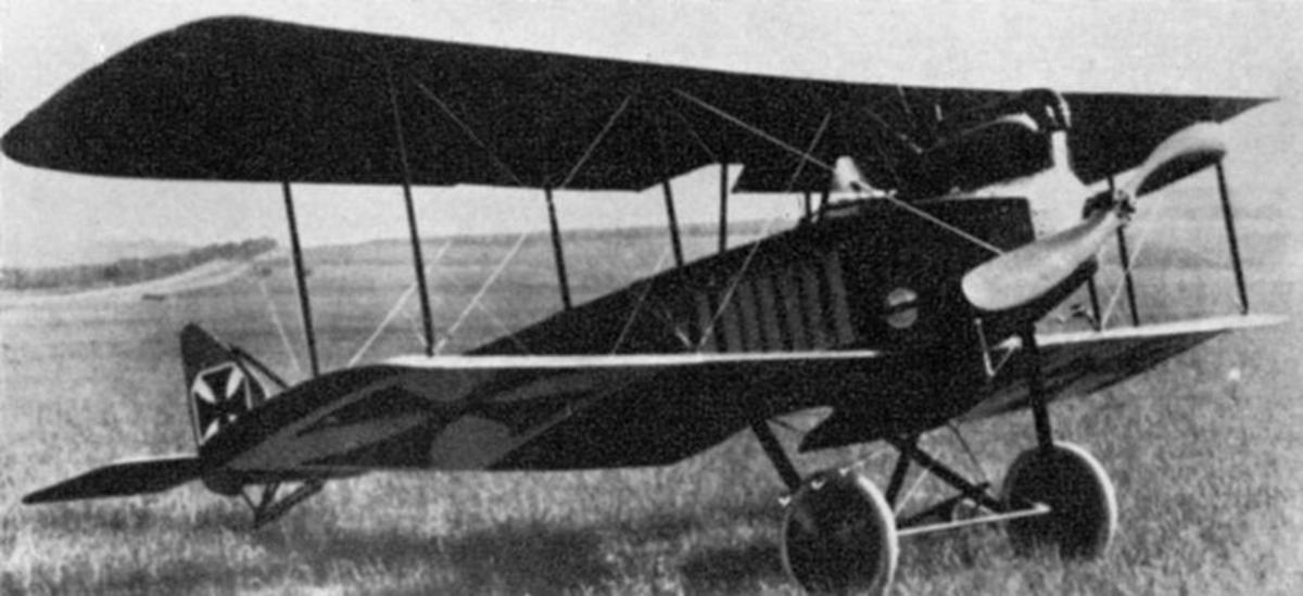 German Halberstadt Aircraft similar to the type Luke shot down as his eleventh kill.