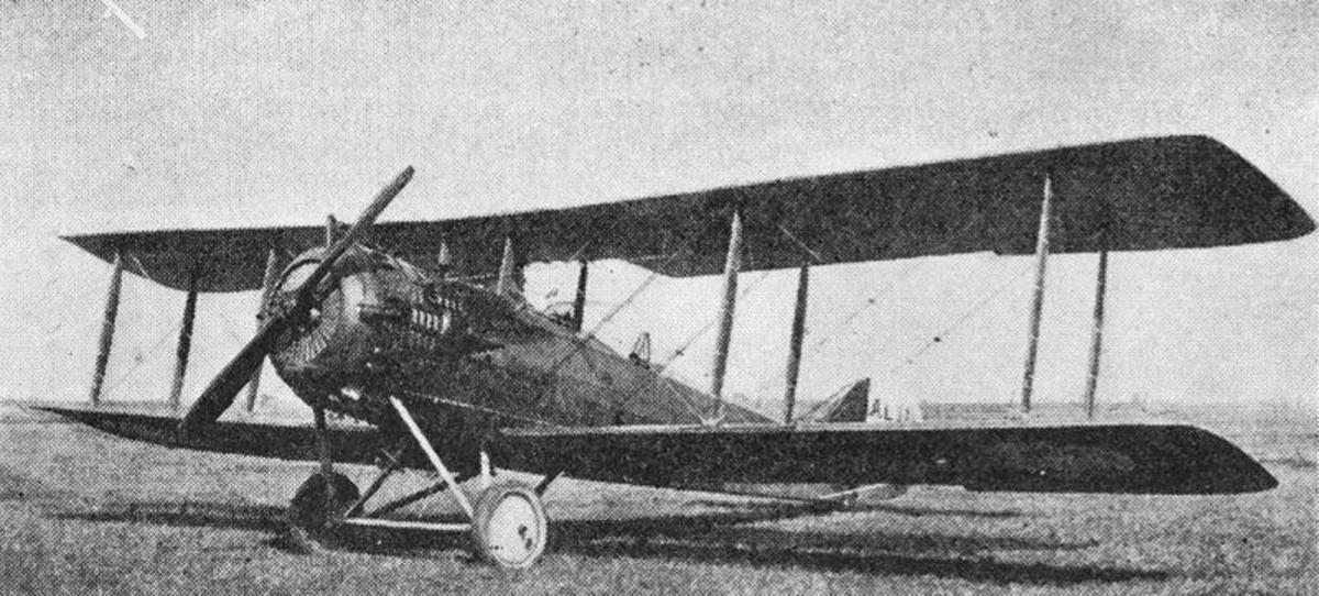 World War I Salmson 2 Reconnaissance Aircraft