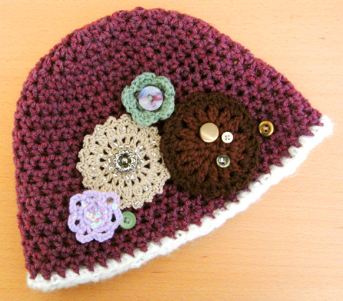 Adorable Crocheted Hat