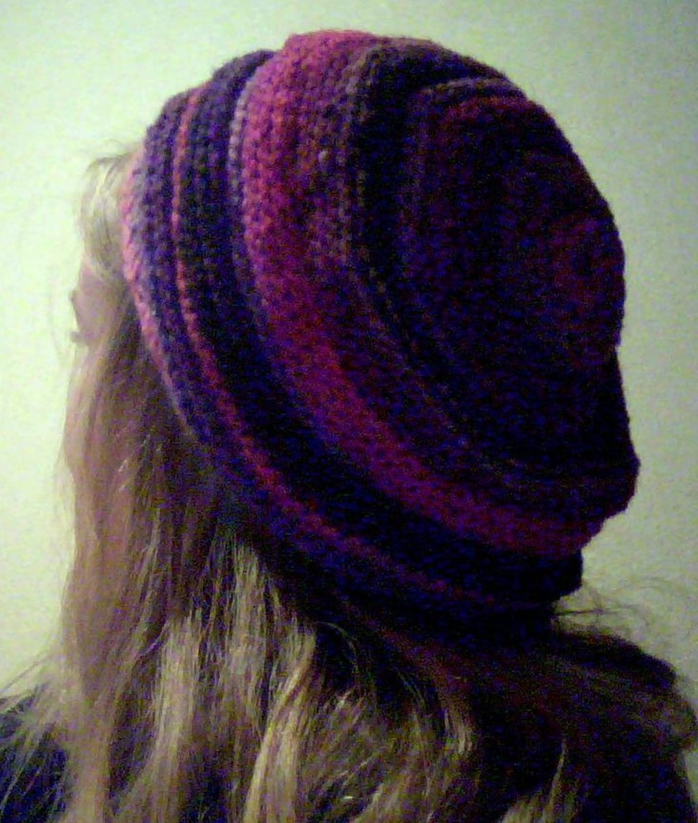 Free pattern for knitted beret
