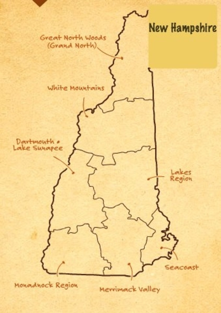new hampshire fall foliage map