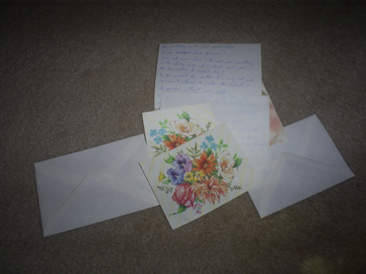 Writing letters is a wonderful way to resurrect the art of traditional correspondence.
