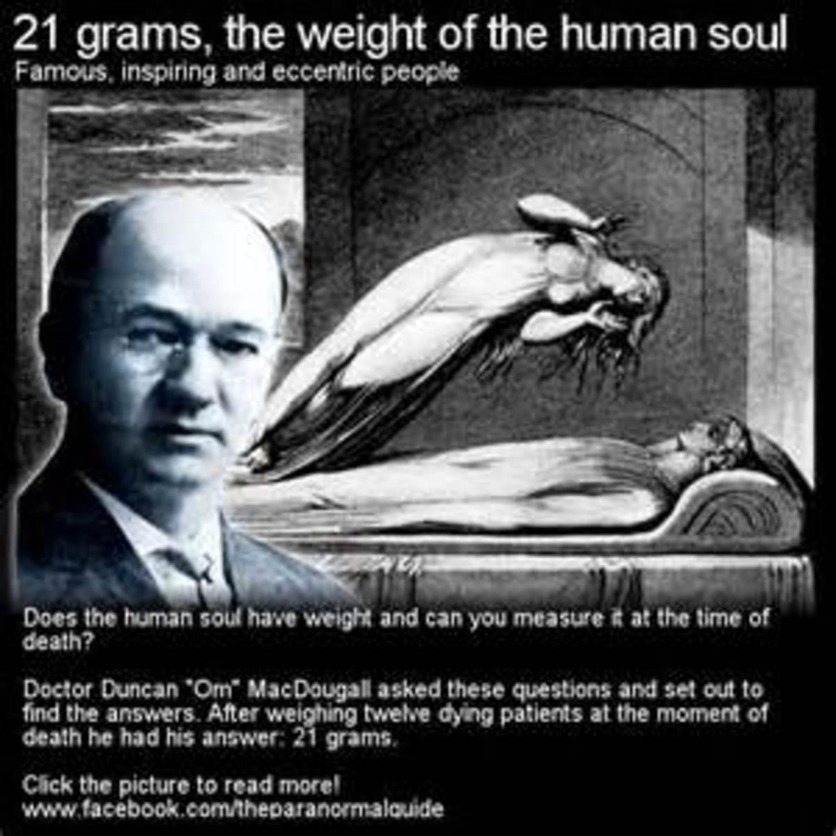 21-gram-theory
