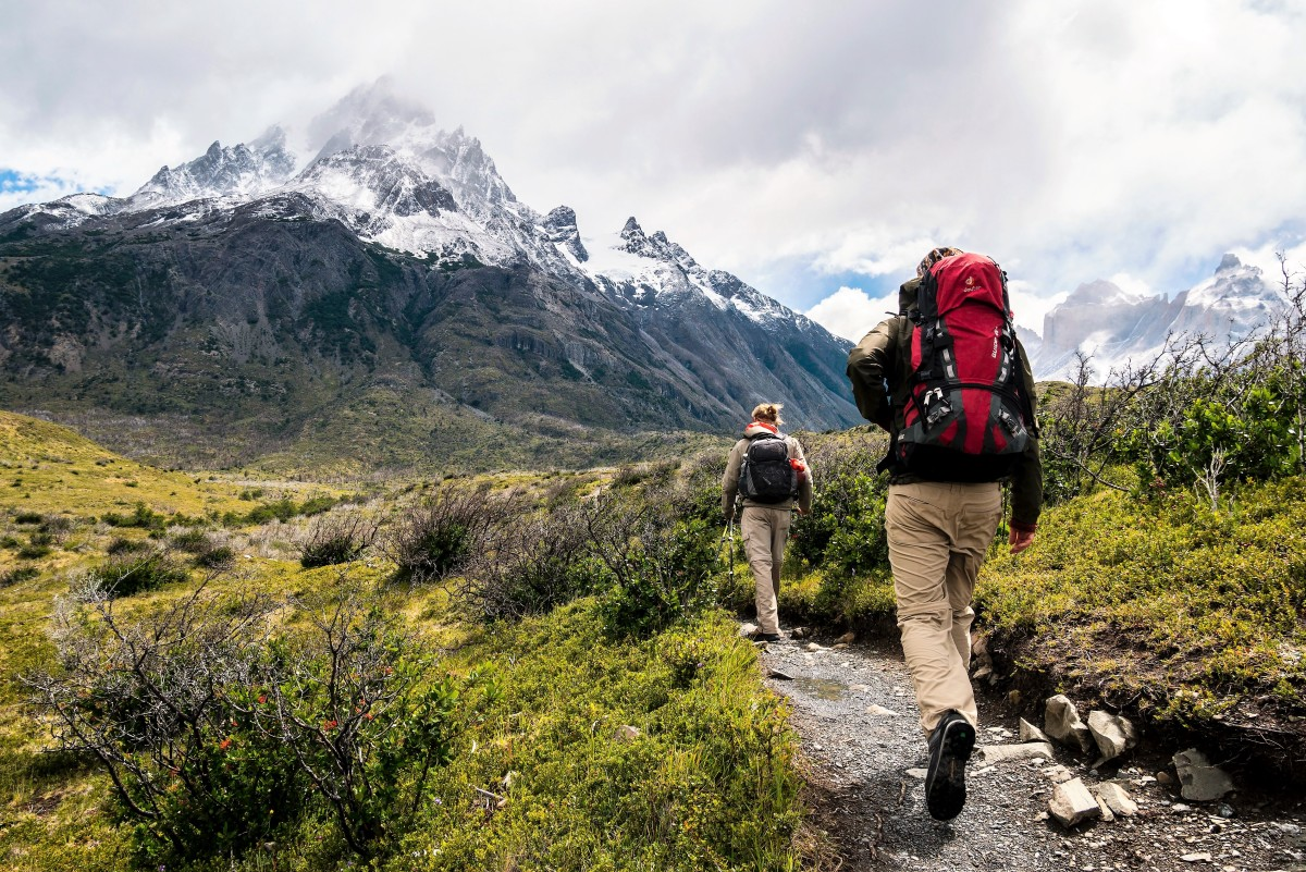 Hiking over rough terrain and uphill is great exercise for reducing the amount of white fat in the body and possibly for increasing the amount of brown fat.