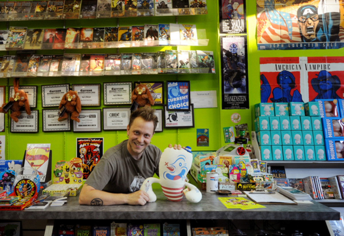 Comic store as small business