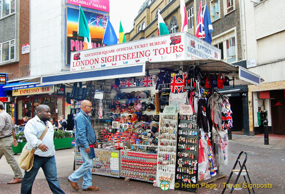 Souvenir Store and Sightseeing Agency