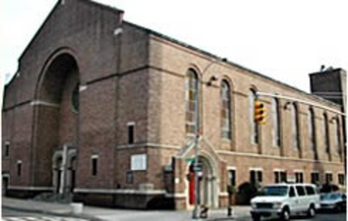 The present brick building was opened c.1956.