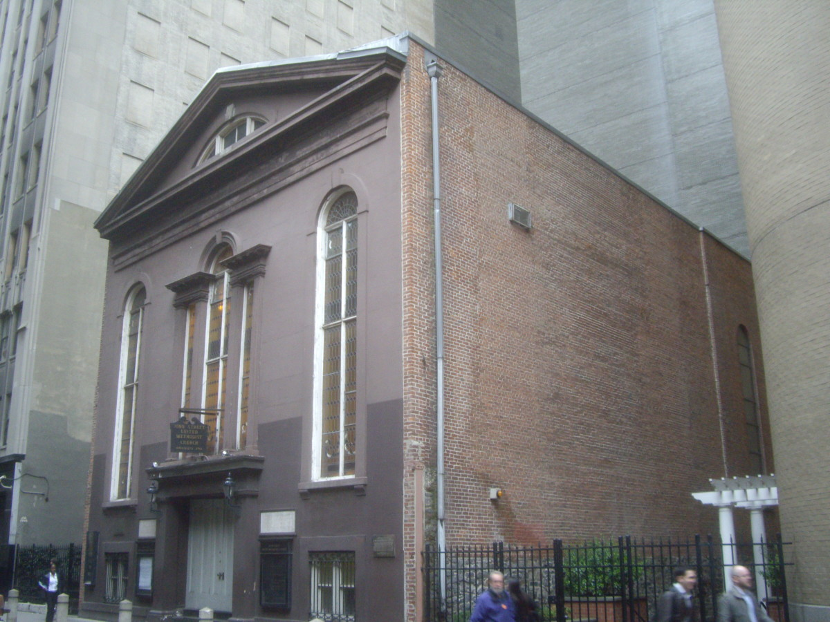 African-Americans of the John Street Methodist Church of NYC left to form their own church after several acts of overt discrimination by white members