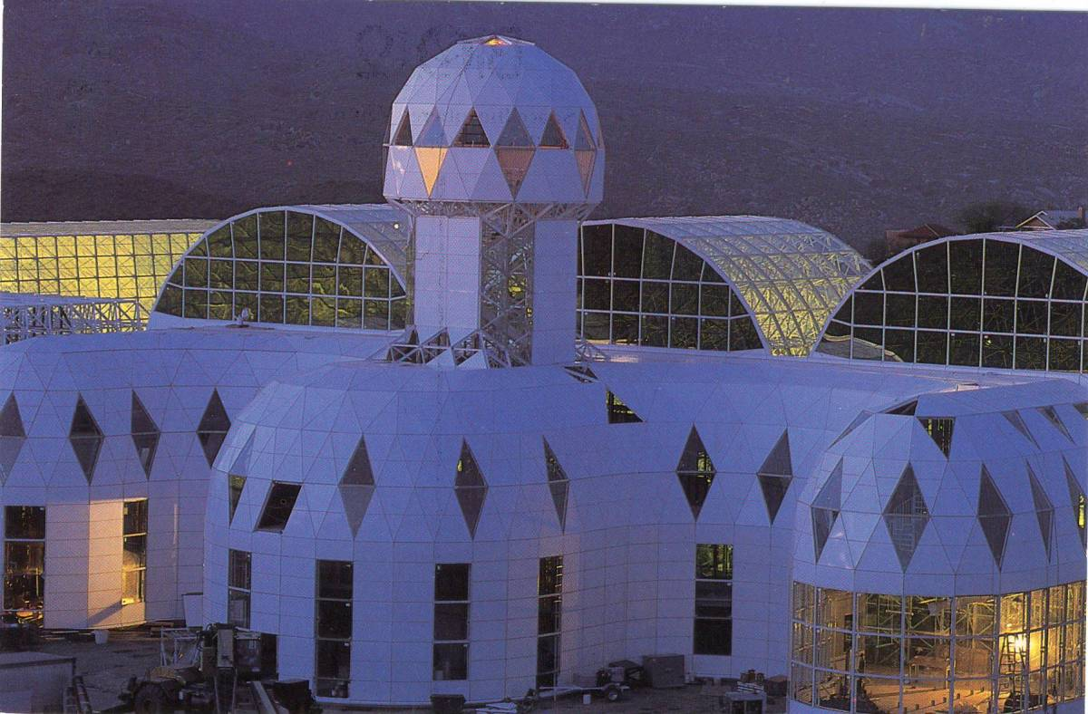 Arizona's Biosphere 2 and Arcosanti the Real Living Under a Dome